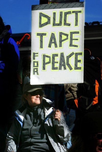 Duct tape may help stop infection spread
