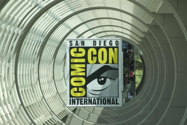 Visitors attend the 42nd annual Comic-Con International, the largest comic book and pop culture event in North America, at the San Diego Convention Center in San Diego, California on July 21, 2011. Comic-Con gets contract extension till 2018 File Photo by UPI/Earl S. Cryer