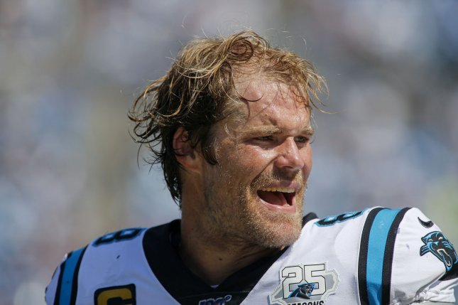 Carolina Panthers tight end Greg Olsen had 110 yards on six catches in Week 2 and could be counted on even more in Week 2. Photo by Nell Redmond/UPI.