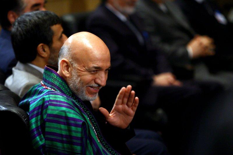 Afghan President Hamid Karzai, who has come out against U.S. bombings of Afghan homes. UPI/Maryam Rahmanian