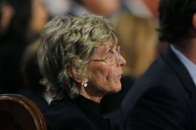 Jean Kennedy Smith attends the funeral service for brother and Sen. Edward Kennedy in Boston, Mass., on August 29, 2009. Smith died Wednesday at age 92. File Photo by Brian Snyder/UPI