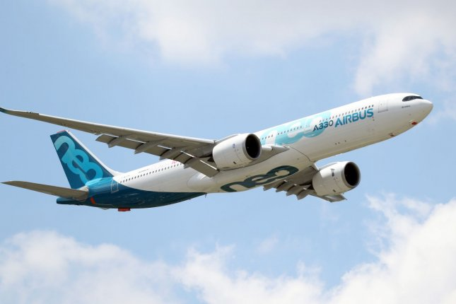 Airbus said the layoffs will occur by summer 2021. File Photo by Eco Clement/UPI