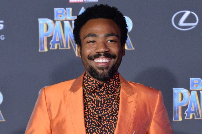 Donald Glover is set to host Saturday Night Live and will also appear as the musical guest. File Photo by Jim Ruymen/UPI