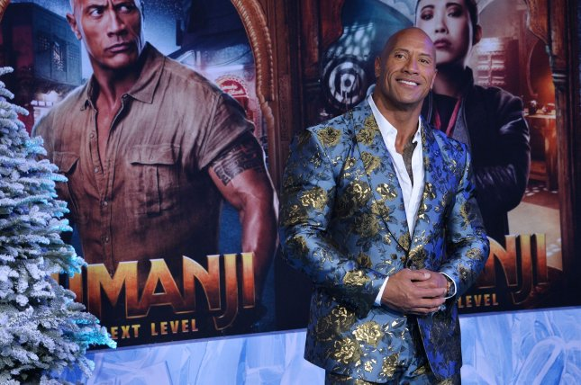 Dwayne Johnson shared the first trailer for his sitcom Young Rock on Saturday. File Photo by Jim Ruymen/UPI