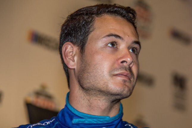 Kyle Larson led 17 of 100 laps to win the All-Star Race on Sunday at Texas Motor Speedway in Fort Worth. File Photo by Edwin Locke/UPI
