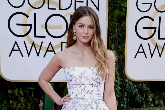 Melissa Benoist attends the Golden Globe Awards on January 10, 2016. The actress filed for divorce from husband Blake Jenner in December. File Photo by Jim Ruymen/UPI