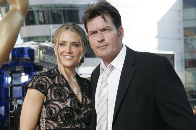 Charlie Sheen and Brooke Mueller at the Primetime Emmy Awards in 2009. The actor will reportedly sell the multi-million dollar house he bought Mueller. File Photo by Lori Shepler/UPI