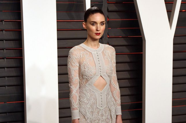 The Discovery star Rooney Mara attends the 2016 Vanity Fair Oscar party in Beverly Hills on February 28, 2016. File Photo by David Silpa/UPI