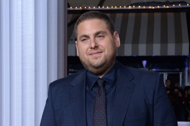 Cast member Jonah Hill attends the Hail, Caesar! premiere in Los Angeles on February 1, 2016. His latest movie War Dogs is set for release Aug. 19. File Photo by Jim Ruymen/UPI