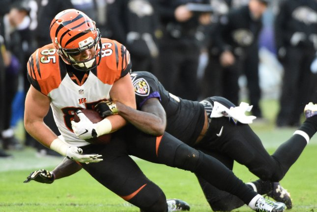 Tyler Eifert agrees to one-year Bengals contract