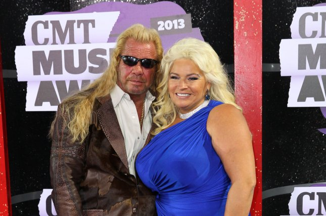 A memorial for Beth Chapman -- pictured here with her husband Duane -- is scheduled to take place Saturday in Hawaii. File Photo by Terry Wyatt/UPI