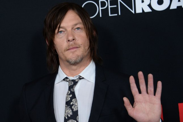 Cast member Norman Reedus attends the premiere of the motion picture crime thriller Triple 9 in Los Angeles on February 16, 2016. File Photo by Jim Ruymen/UPI