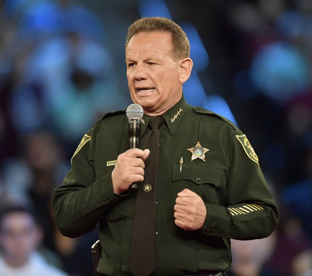 Broward County Sheriff Scott Israel was officially removed from his position by a 25-15 Senate vote on Wednesday. File Pool Photo by Michael Laughlin/UPI