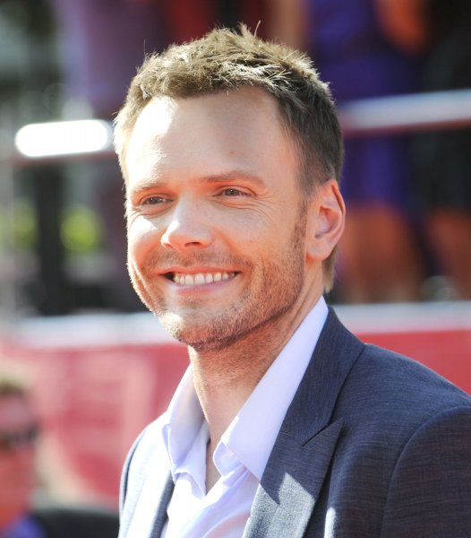 Comedian Joel McHale arrives for the ESPY Awards at Nokia Theatre in Los Angeles on July 11, 2012. UPI/Phil McCarten