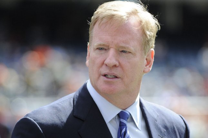 NFL Commissioner Roger Goodell. Photo by David Banks/UPI