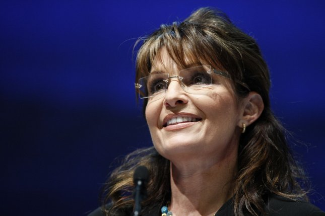 Former vice-presidential candidate and governor of Alaska Sarah Palin speaks at the National Rifle Association's Leadership Forum in Charlotte, North Carolina on May 14, 2010. UPI/Nell Redmond .