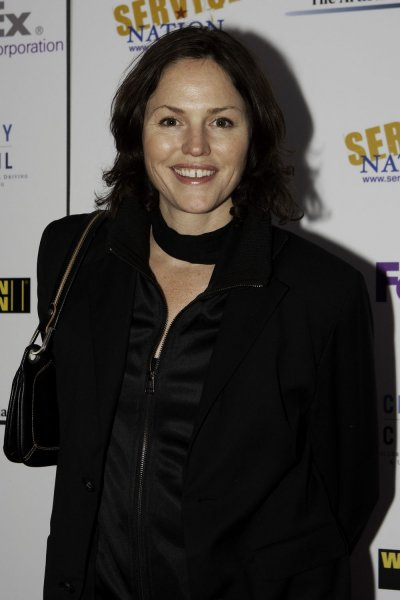 Actress Jorja Fox arrives at the Artists and Athletes Alliance Inaugural Event honoring Service Nation hosted by Tobey Maguire at Cafe Milano in Washington on January 19, 2009. U.S. President-elect Barack Obama will be sworn into office on January 20, 2009. (UPI Photo/Patrick D. McDermott)