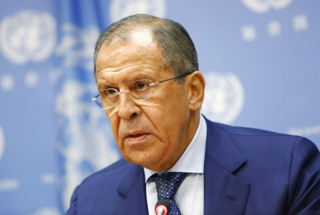 Russian Foreign Minister Sergey Lavrov, shown here at the United Nations last fall, visited Mongolia and Japan in recent weeks. File Photo by Monika Graff/UPI