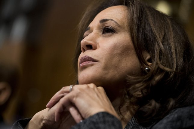 Sen. Kamala Harris, D-Calif., confirmed her candidacy during an appearance on ABC's Good Morning America. File Photo By Tom Williams/UPI