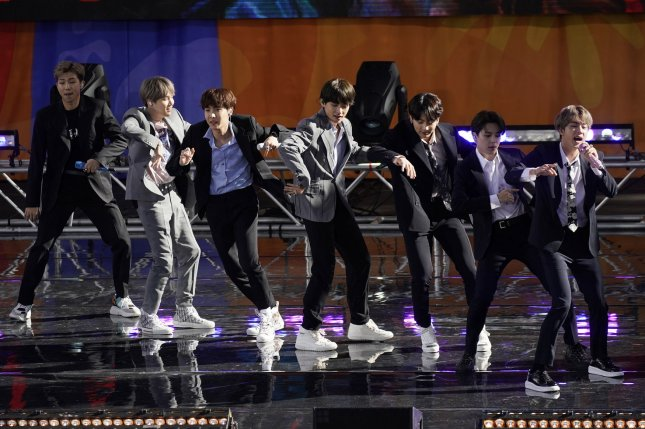 BTS won nine prizes at this year's Mnet Asian Music Awards.  File Photo by John Angelillo/UPI