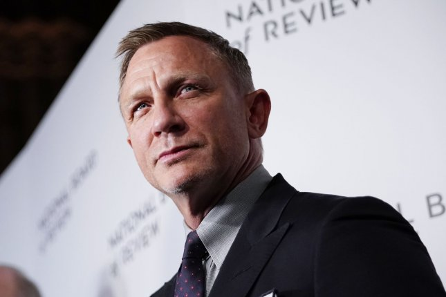 Daniel Craig plays James Bond in the upcoming film No Time to Die. File Photo by John Angelillo/UPI