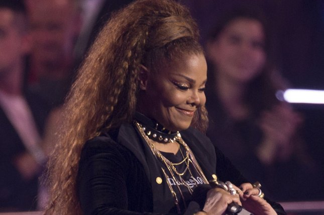 A four-hour, TV documentary about Janet Jackson is in the works at A&E and Lifetime. File Photo by Sven Hoogerhuis/UPI