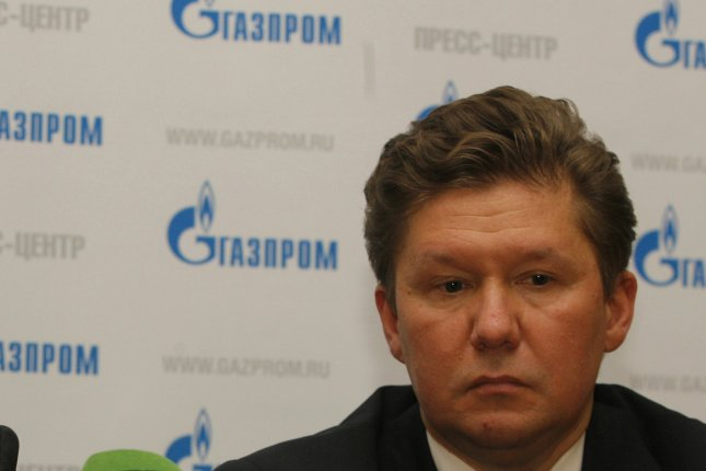 Russian gas monopoly Gazprom chief Alexei Miller says there are no political obstacles to advancing a gas pipeline through Turkey. File photo by Anatoli Zhdanov/UPI