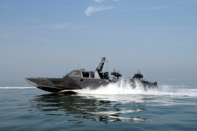 The U.S. Department of State on Tuesday approved a proposed $124 million military sale to Qatar for Mark V fast patrol boats, and associated gun systems and ammunition. File Photo by PH1(SW) Arlo Abrahamson/U.S. Navy