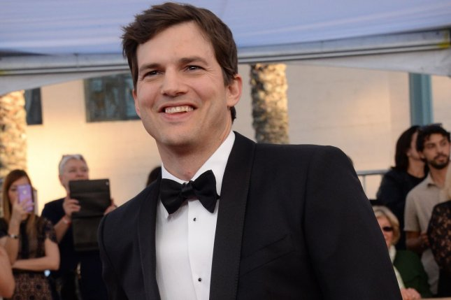 Ashton Kutcher arrives for the the 23rd annual SAG Awards on Sunday. Kutcher opened the show by criticizing President Donald Trump's executive order banning refugees, migrants and foreign nationals from seven mostly Muslim countries from entering the United States. Photo by Jim Ruymen/UPI