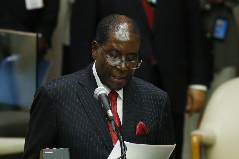 Robert Mugabe, president of Zimbabwe, fired vice president Emmerson Mnangagwa claiming he was disloyal and failed to uphold his duties. Photo by Monika Graff/UPI