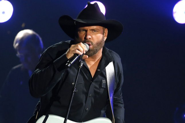 Garth Brooks has released a new single titled All Day Long. File Photo by John Sommers II/UPI