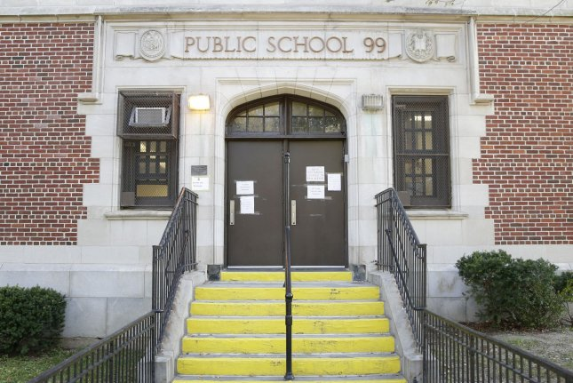 A three-judge panel on Monday dissolved an injunction, allowing New York City's mandate for public school employees to go into effect as Mayor Bill de Blasio ordered educators to get vaccinated by Friday. File Photo by John Angelillo/UPI