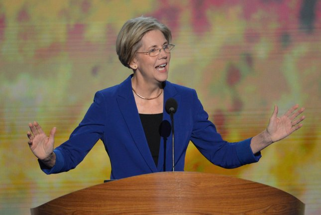 Sen. Elizabeth Warren, D-Mass., has introduced a bill that will allow people holding federal student loans to refinance them to the lower, current rate. UPI/Kevin Dietsch