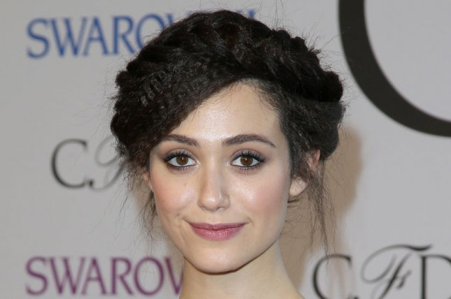 Emmy Rossum turned heads at the 2015 Costume Designers Guild Awards. File photo by John Angelillo/UPI