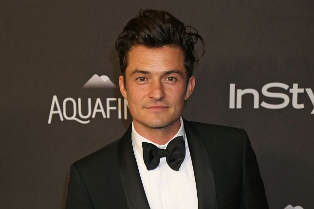 Easy co-star Orlando Bloom attends the 17th annual InStyle and Warner Bros. Golden Globe after-party in Beverly Hills on January 10, 2016. File Photo by David Silpa/UPI