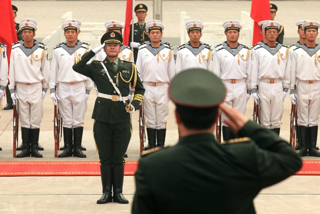 The Chinese navy is conducting additional drills near the island province of Hainan. File Photo by Stephen Shaver/UPI