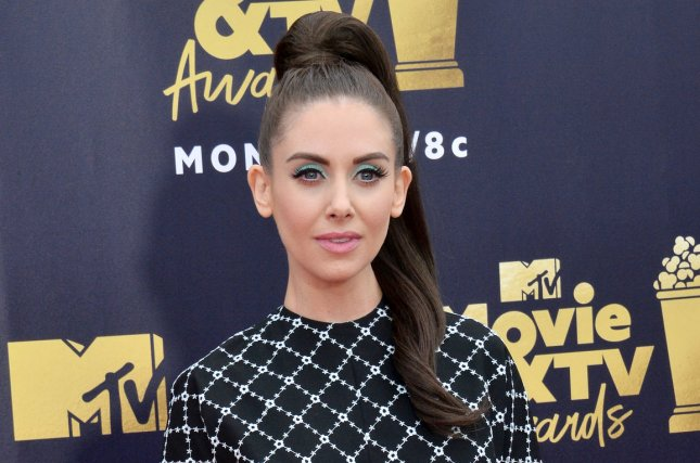GLOW star Alison Brie. Netflix has renewed the professional wrestling based show for a third season. File Photo by Jim Ruymen/UPI
