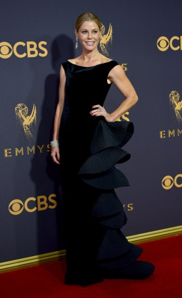 Julie Bowen arrives for the 69th annual Primetime Emmy Awards at Microsoft Theater in Los Angeles on September 17, 2017. The actor turns 50 on March 3. File Photo by Christine Chew/UPI