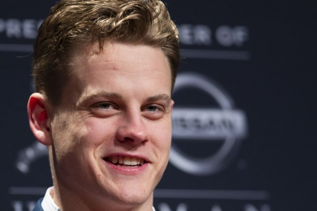 Former LSU quarterback Joe Burrow (pictured) will have to beat out three-time Pro Bowl selection Andy Dalton if he wants to be the Cincinnati Bengals' starter in 2020. File Photo by Corey Sipkin/UPI