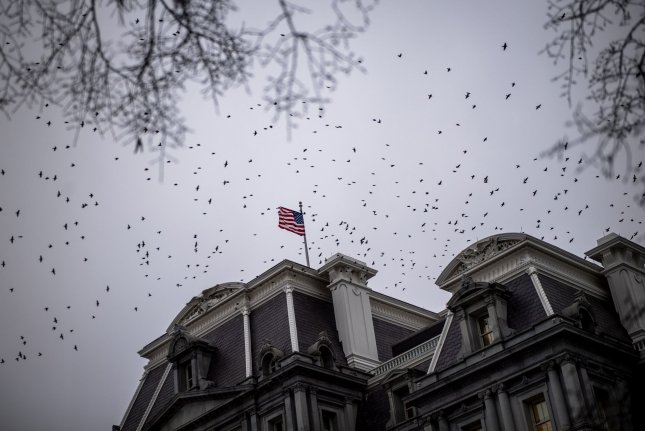 Federal court documents released Tuesday showed that the Justice Department is investigating a alleged bribery-for-pardon scheme. Photo by Kevin Dietsch/UPI