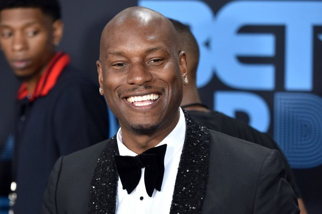 Tyrese Gibson and his wife, Samantha Gibson, have announced their split. File Photo by Christine Chew/UPI