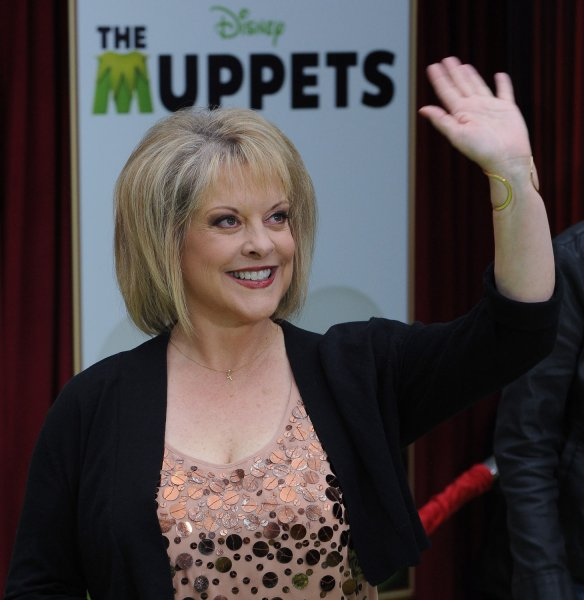 Television host Nancy Grace attends the premiere of the motion picture musical comedy The Muppets, at the El Capitan Theatre, in the Hollywood section of Los Angeles on November 12, 2011. UPI/Jim Ruymen