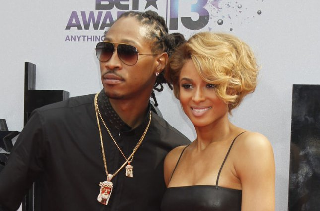 Rapper Future (L) and singer Ciara attend the BET Awards 13 at the Nokia Theatre in Los Angeles on June 30, 2013. UPI/Alex Gallardo