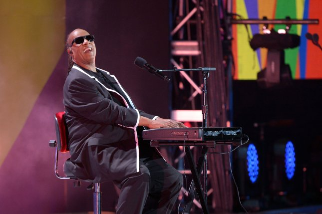 Stevie Wonder performs during the opening ceremony of the Special Olympics World Games at the Los Angeles Memorial Coliseum in Los Angeles on July 25, 2015. Wonder has now divoreced from his second wife and is expecated to pay $25,000 a month in child support. File Photo by Jim Ruymen/UPI