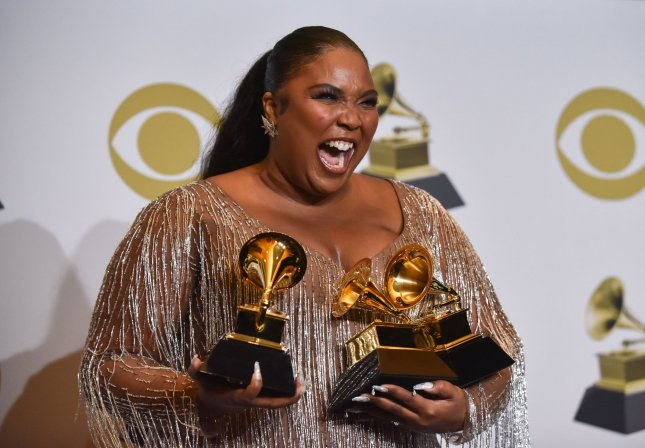 Lizzo was named Entertainer of the Year at Saturday's NAACP Image Awards in Los Angeles. Photo by Christine Chew/UPI