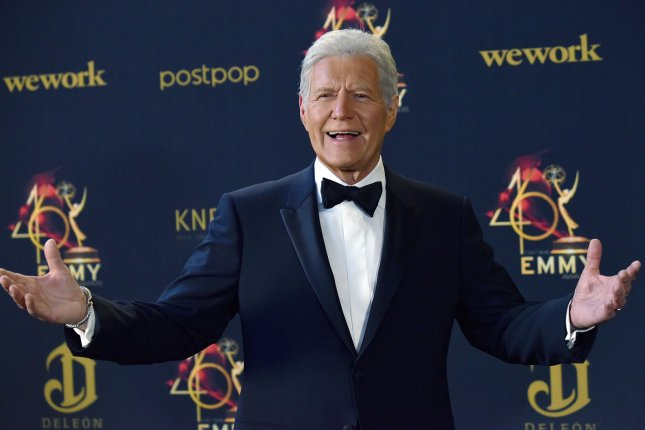 Jeopardy! memorialized Alex Trebek by dedicating a stage to the late game show host. File Photo by Christine Chew/UPI