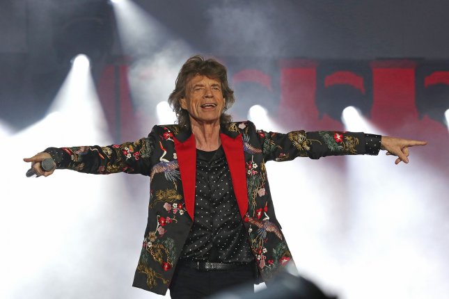 Mick Jagger has a 4-year-old son, Devereaux, with his girlfriend, retired ballerina Melanie Hamrick. File Photo by David Silpa/UPI