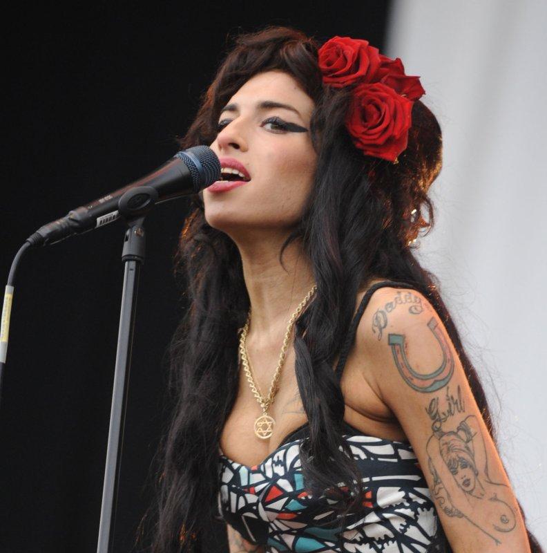 British singer Amy Winehouse (UPI Photo/Rune Hellestad)