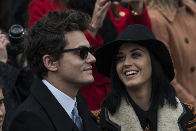 John Mayer and Katy Perry photographed as a couple on January 21, 2013. Photo by Mannie Garcia/UPI