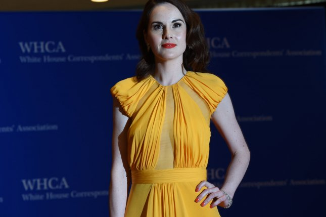Good Behavior actress Michelle Dockery arrives on the red carpet prior to the White House Correspondents Association Dinner in Washington, DC, April 30, 2016. Photo by Molly Riley/UPI